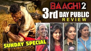 Baaghi 2 Movie Third Day Public Review | Honest Reaction | Best Review | Tiger Shroff