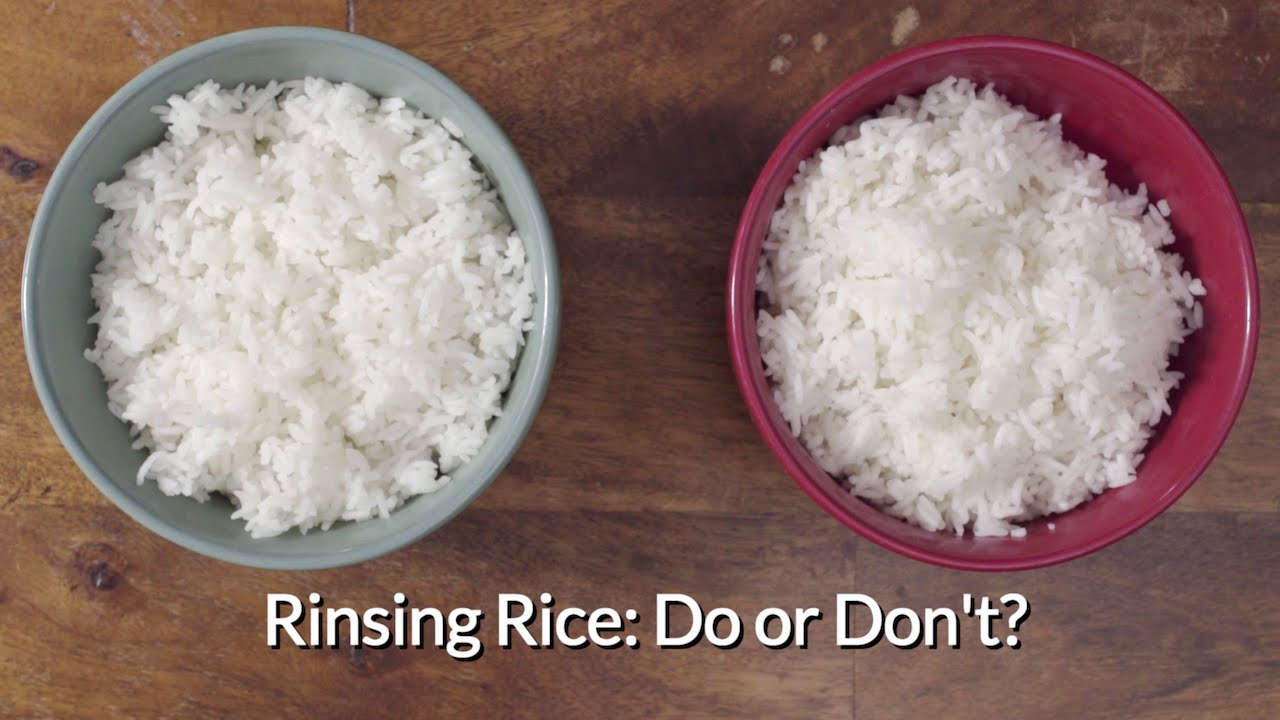How to Rinse or Wash Rice