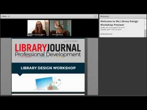 Online Course Preview: Library Design Workshop | Fall 2016