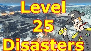 Level 25 disasters! | Cities: Skylines