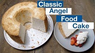 Classic Angel Food Cake Recipe    Le Gourmet TV Recipes