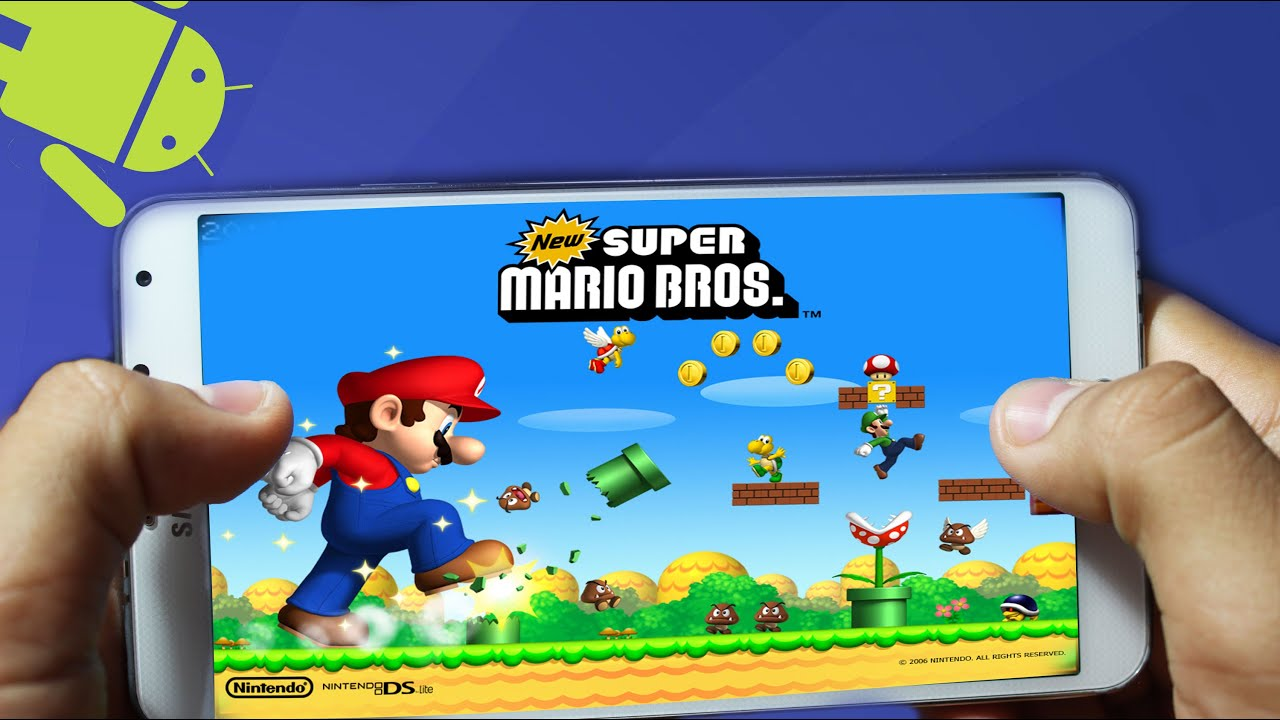 New Super Mario Bros. ANDROID | Tu Android Personal - YouTube