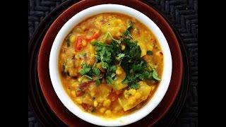 Chana Dal With Ghiya Recipe ( Indian Lentils Curry Recipe)