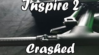 My Inspire 2 fell out of the Sky!!!
