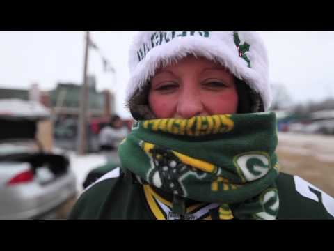 Packers fans deal with the cold