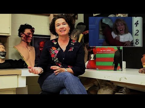 An  with Heather Langenkamp A Nightmare on Elm Street