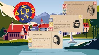 Over the Alps Gameplay Visual novel Interactive fiction Text adventure
