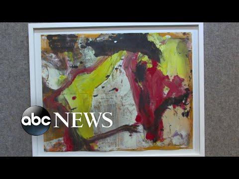 Art dealer finds storage locker holds valuable paintings