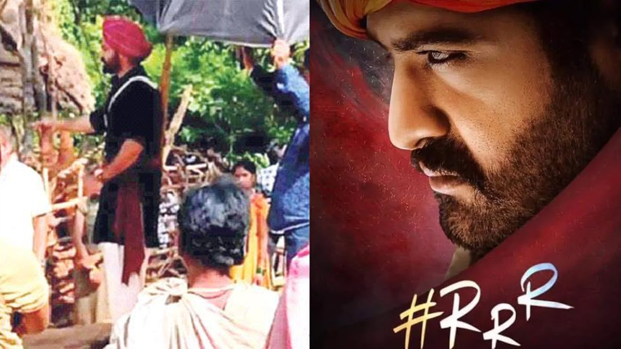 Rrr Ntr Scene Leaked Video   Movie First Look Komaram Bheem   Rajamouli    Ram Charan - Youtube