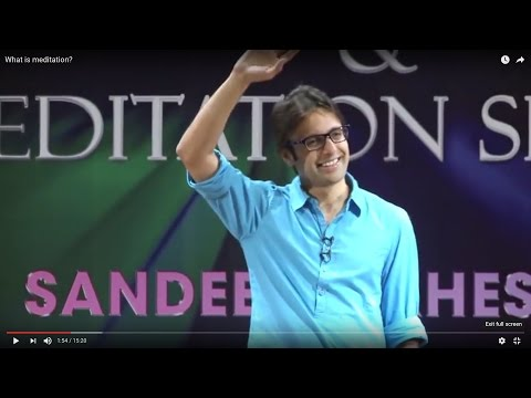 What is meditation? ( ध्यान क्या है ? )  By Sandeep Maheshwari