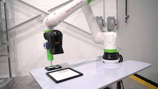 Pick and place application with a FANUC Cobot