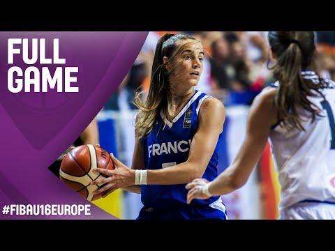 Italy v France - Full Game - Semi-Final - FIBA U16 Women's European Championship 2017