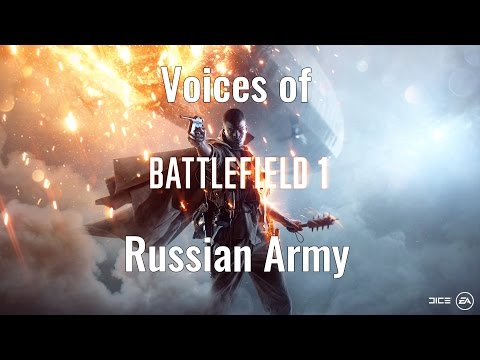 Battlefield 1 - Russian Voices