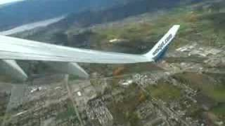 Westjet take-off Kelowna