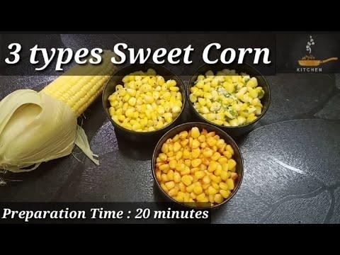 Download Street Style Sweet Corn 3ways   American Corn 3 ways   Masala Corn, Chilli Cheese & Classic Corn