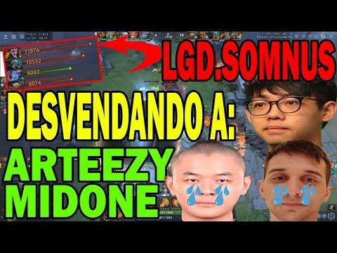 SOMNUS DE LGD HUMILLA A ARTEEZY Y MIDONE CON TIMBER   DOTA 2 COSAS thumbnail