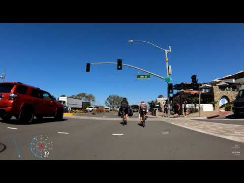San Diego: Del Mar To Oceanside (Indoor Cycling Video)