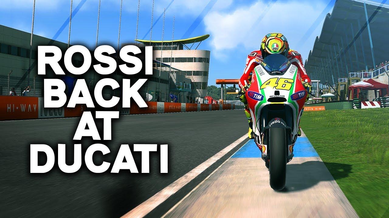 ROSSI BACK AT DUCATI! | Playing MotoGP 13 In 2019
