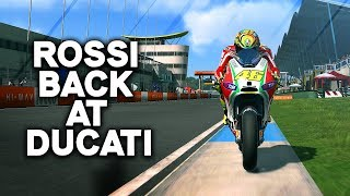 ROSSI BACK AT DUCATI! | Playing MotoGP 13 In 2019