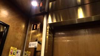 Very nice 1939 (m. KONE 1960s-80s & 2011) Traction Elevator/Lift in Helsinki, Finland