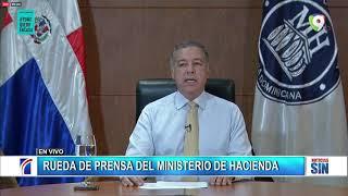 Rueda de prensa del Ministerio de Hacienda 03-04-2020 | Noticias SIN
