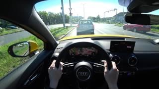 2017 Audi Q2 Sport 1.4 TFSI 110 kW / 150 HP, 4K POV: Static, drive, acceleration 0-100 km/h