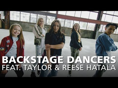 Backstage Dancers feat. Taylor & Reese Hatala