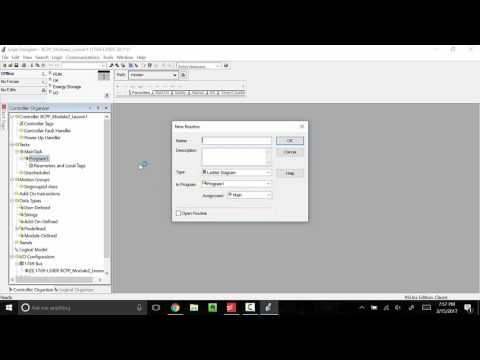How To Set Up a Studio 5000 Logix Designer Project