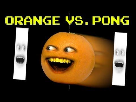 Annoying Orange vs Pong