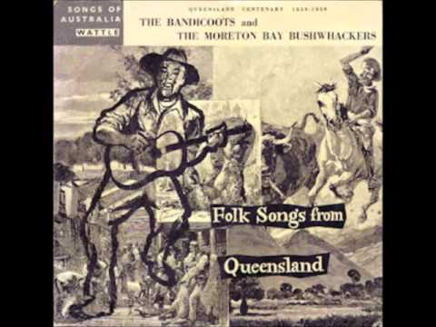 "Folk Songs From Queensland Wattle Records 10"" LP"