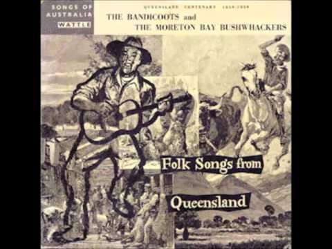 "Folk Songs From Queensland Wattle Records 10"" LP"