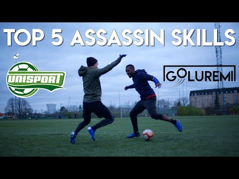 5 ATTACKER SKILLS - THE ONLY ATTACKING SKILLS YOU NEED ft UNISPORT