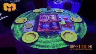3D Projection Mapping - Table Demo - MP-STUDIO