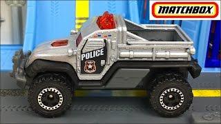 MATCHBOX EN MISION VIGILANCIA DEL CRIMEN PERSECUCION POR LAS CALLES POLICE CAR PURSUIT Y HELICOPTERO