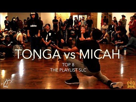 Tonga vs. Micah | Top 8 | The Playlist SLC Vol. 1 | #SXSTV