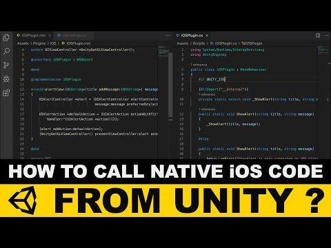 Unity3d IOS Plugins - How To Create An IOS Plugin With Unity3d ?