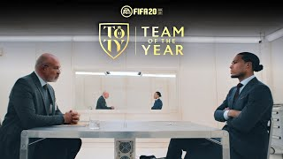 OFFICIAL FIFA 20 TEAM OF THE YEAR REVEAL! 🎮🔥 FT. VIRGIL VAN DIJK
