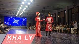 THANH DUY hôn KHA LY trong buổi ra mắt bộ sưu tập mới của nhà thiết kế Minh Châu
