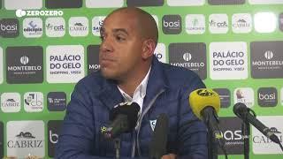 Tondela esteve em silêncio antes do Benfica, Pepa explica porquê