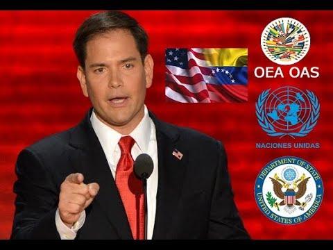 """Senador Marco Rubio sobre situación Venezuela: """"Ha llegado el momento de tomar acción"""""""
