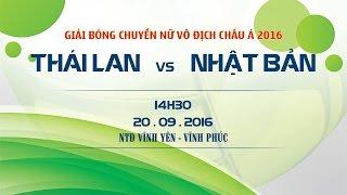 thai lan vs nhat ban - cup chau a 2016  full