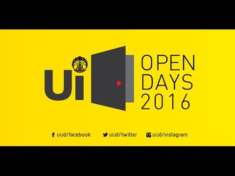 UI Open Days 2016  Bagian Pertama