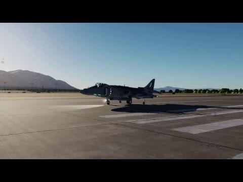DCS Harrier Practice Nevada