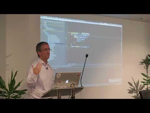 Asynchronous Programming with Kotlin by Hadi Hariri @The Telegraph Engineering Kotlin Meetup 2017