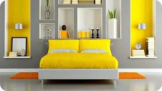 видео Жёлтый цвет в интерьере квартиры