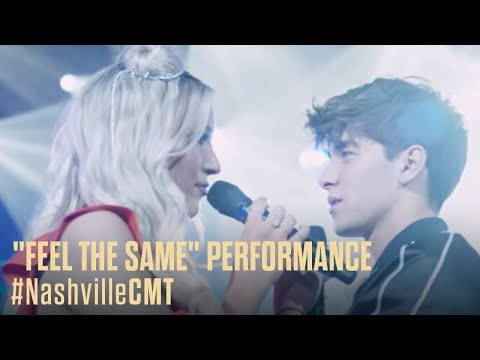 "NASHVILLE ON CMT | Maddie and Jonah's ""Feel The Same"" Performance"