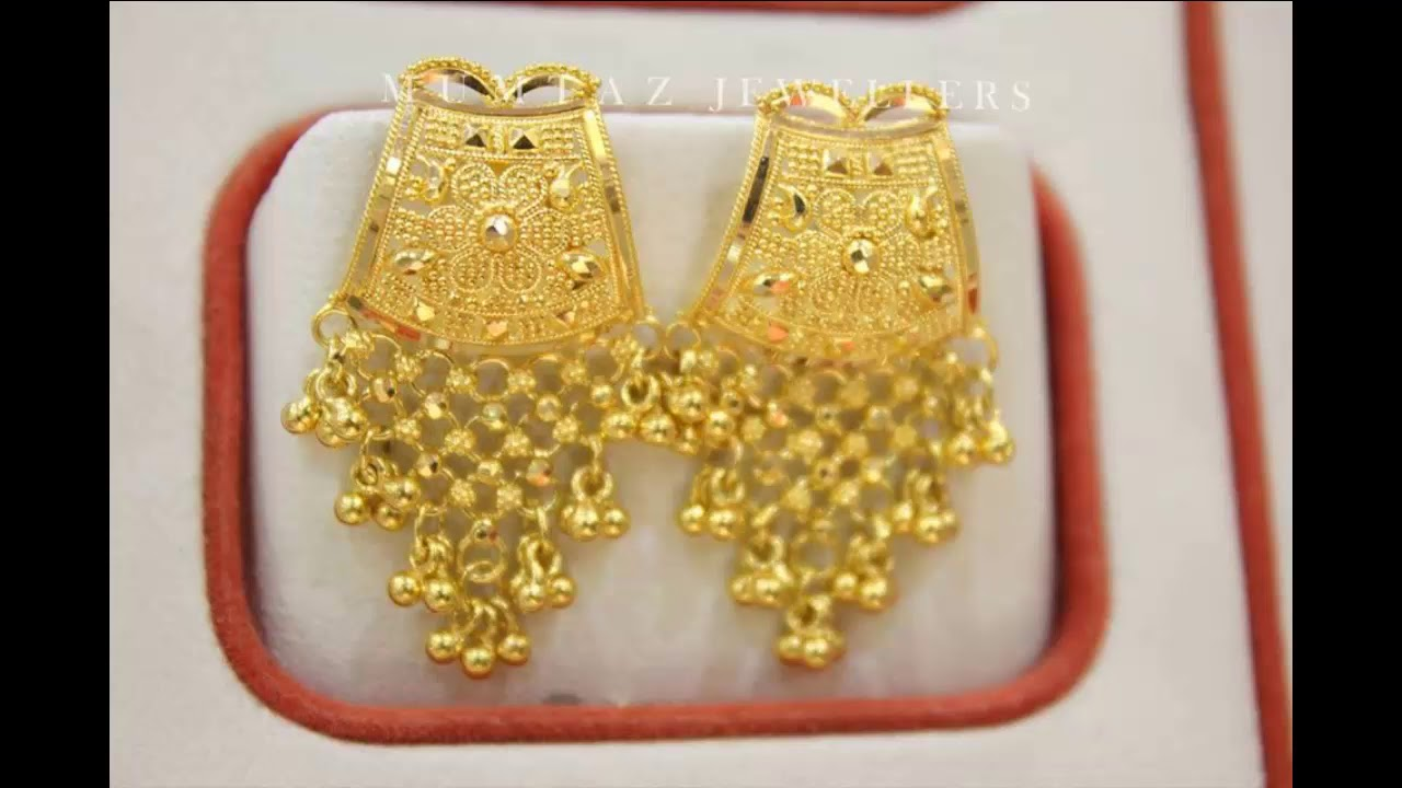 gold earrings designs with price and weight bridal gold