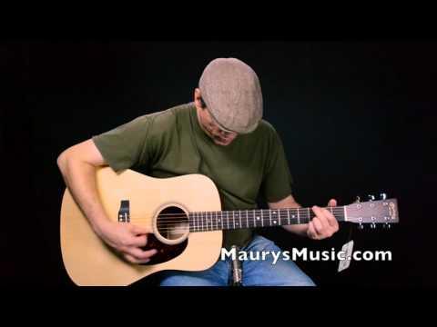 The Martin D-16GT at MaurysMusic.com