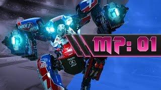 PSVR RIGS: Mechanized Combat League - Multiplayer Gameplay #1 37 - 23 TDM