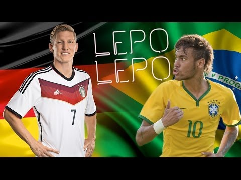 Neymar & Schweinsteiger - Lepo Lepo Dance (Song by Psirico & Pitbull) ...